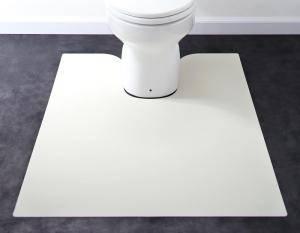 トイレマット トイレ マット おしゃれ 安い 拭ける ふける 洗える 滑り止め ふかふか ふわふわ ( トイレマット80×125cm )
