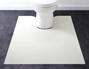 トイレマット トイレ マット おしゃれ 安い 拭ける ふける 洗える 滑り止め ふかふか ふわふわ ( トイレマット90×125cm )