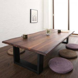 センターテーブル ローテーブル おしゃれ 北欧 木製 リビングテーブル コーヒーテーブル 応接テーブル デスク 机 ( ローテーブルウォールナット幅180 )