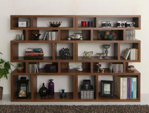 本棚 ディスプレイラック 棚 シェルフ オープンラック 収納 北欧 おしゃれ 木製 ラック 飾り棚 リビング ( ストレート 幅180 高さ120 )