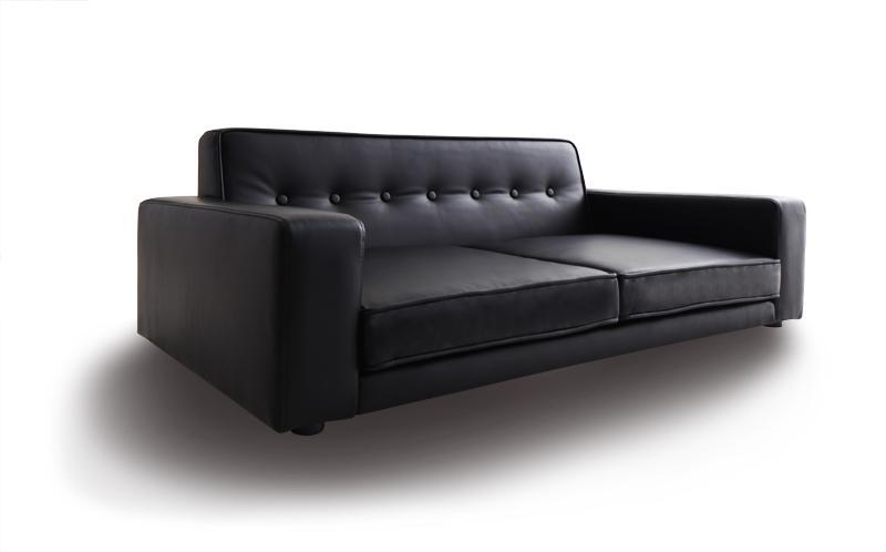 ソファー ソファ 2人掛け 二人掛け 2人用 二人用 おしゃれ 布 ファブリック 北欧 カフェ リビング 座椅子 ローソファ  ( 2P Mグレー )