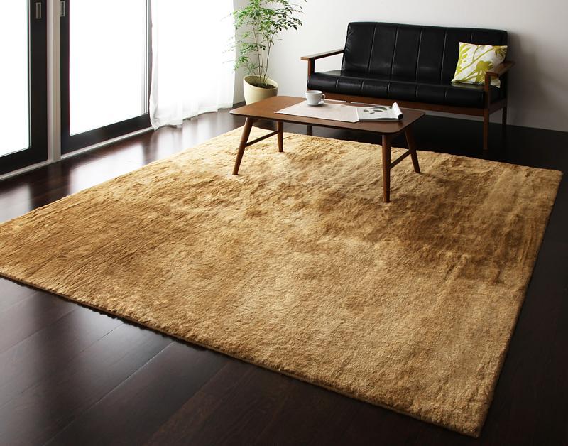 ラグ カーペット じゅうたん ラグマット 絨毯 安い マット ふわふわ 厚手 ふかふか もこもこ ファーラグ 200×200 2.5畳 3畳 ブラック 黒 おしゃれ 防音 子供