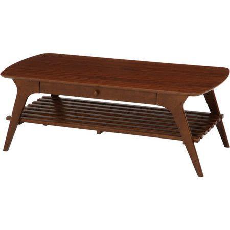 センターテーブル ローテーブル テーブル リビングテーブル コーヒーテーブル 応接テーブル デスク 机 文机 ブラウン 茶色