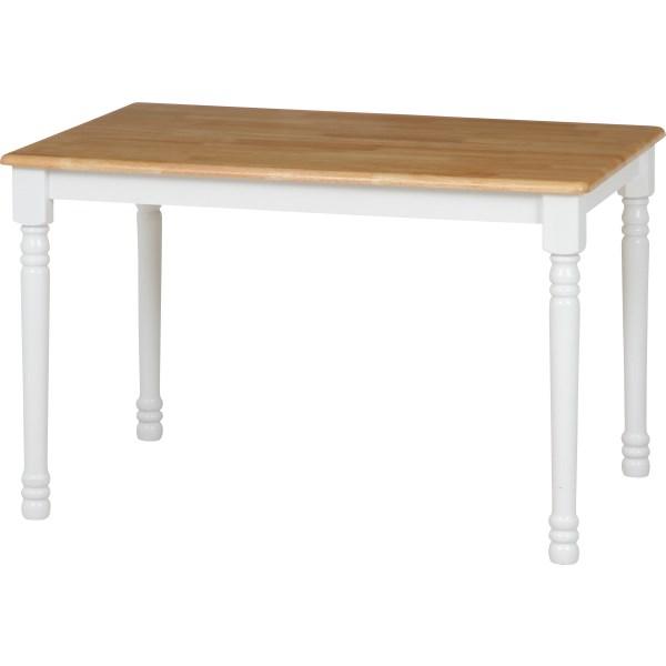 ダイニングテーブル 食卓テーブル ダイニング テーブル カフェテーブル 食卓 リビングテーブル ホワイト 白 ナチュラル