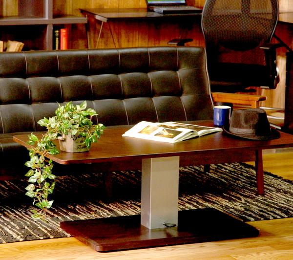 リフティングテーブル フォールディングテーブル 折りたたみテーブル リフトテーブル 昇降テーブル テーブル 昇降式テーブル センターテーブル リビングテーブル ダークブラウン 茶色