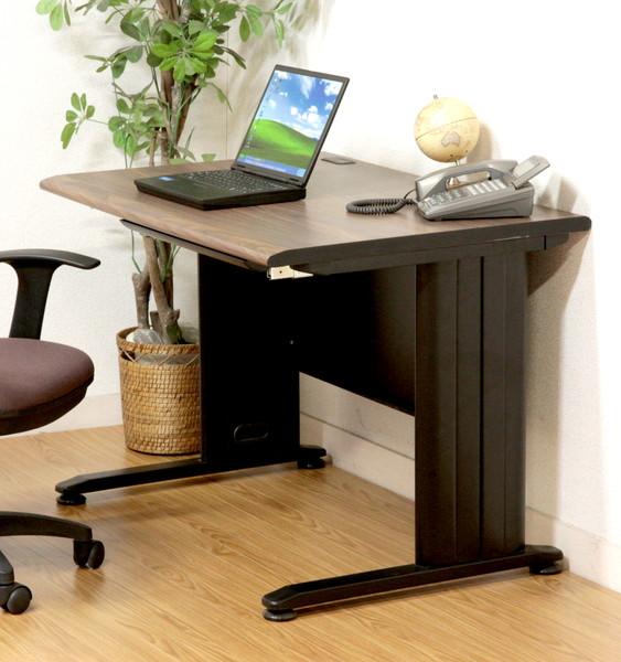 オフィスデスク スチール 事務机 パソコンデスク 机 デスク PCデスク おしゃれ 安い 北欧 シンプル オフィス ヴィンテージ ブラック パソコンラック ワークデスク 約 幅100