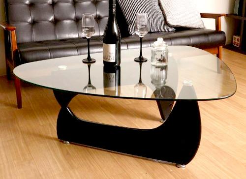 センターテーブル ローテーブル ガラス ブラック 黒 【 ガラステーブル リビングテーブル ダイニングテーブル ちゃぶ台 サイドテーブル コーヒーテーブル 座卓 送料無料 送料込 ポイント 】