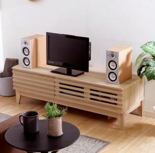 テレビ台 おしゃれ 安い 北欧 ローボード テレビボード 収納 120 ナチュラル 脚付き 幅120 TV台 テレビラック TVボード TVラック