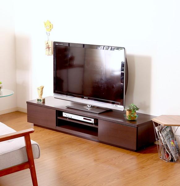 テレビ台 おしゃれ 安い 北欧 ローボード テレビボード TV台 テレビラック TVボード TVラック 収納 多い ブラウン 幅150 奥行39 高さ28