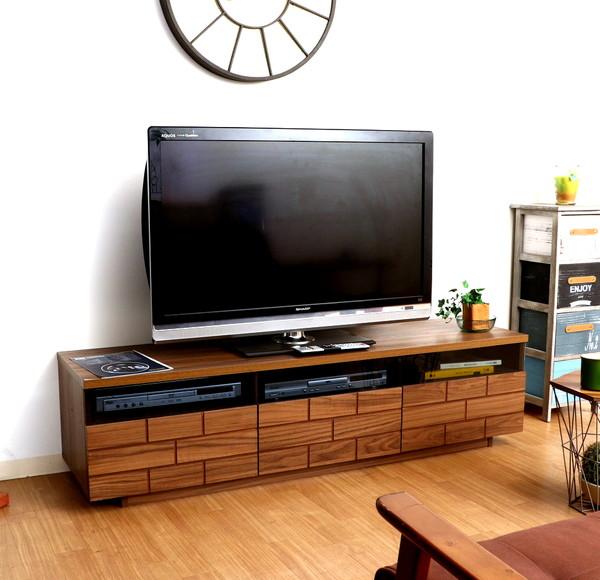 テレビ台 おしゃれ 安い 北欧 ローボード テレビボード TV台 テレビラック TVボード TVラック 収納 多い ブラウン 幅150 奥行40 高さ39