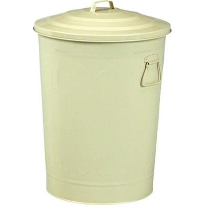 ゴミ箱 ごみ箱 ダストボックス キッチン リビング おしゃれ ふた付き 蓋付きゴミ箱 蓋 つき 蓋付き オフィス トイレ 3個 49L 45リットル 45l 45 アイボリー