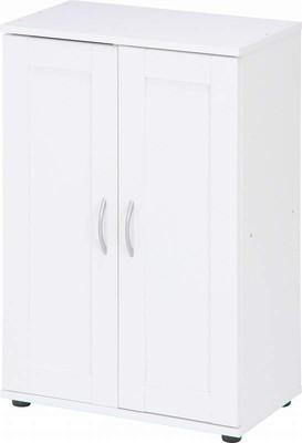下駄箱 シューズラック シューズボックス 靴箱 オフィス おしゃれ 北欧 収納 安い 薄型 スリム 約 幅60 木製 コンパクト 小さい 一人暮らし ホワイト ロータイプ 扉