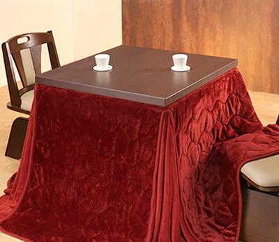 ダイニングテーブルセット ダイニングセット おしゃれ 安い 北欧 食卓 正方形 2人用 二人用 コンパクト 小さめ 一人暮らし 80×80 こたつ 昇降式 高さ調整 ロータイプ 低め こたつ布団 回転椅子 2脚 天然木 ブラウン モダン カフェテーブル