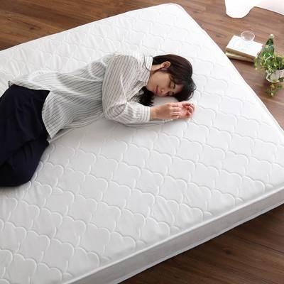 セミダブル ロール梱包 ポケットコイルマットレス マットレス マット ベッド 腰痛 快眠 睡眠 寝具 固め 硬め