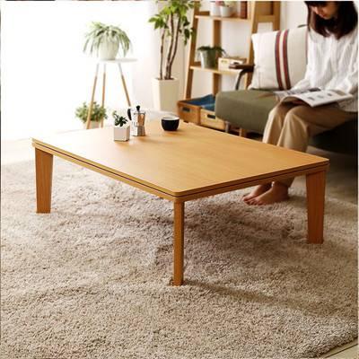 ウォールナット おしゃれ リバーシブル こたつ 105cm×75cm幅 長方形 単品 センターテーブル ローテーブル コーヒーテーブル デスク 机 一人暮らし リビング