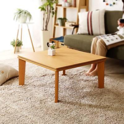 一人暮らし ウォールナット おしゃれ リバーシブル こたつ 68cm幅 正方形 単品 センターテーブル ローテーブル コーヒーテーブル デスク 机 文机 リビング ロー
