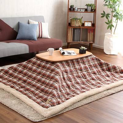 一人暮らし こたつ 長方形 + 掛け布団 掛布団 掛 掛け 2点セット 北欧 木製 継ぎ脚 高さ調整 日本製 センターテーブル ローテーブル コーヒーテーブル 応接テーブル 机 リビング おしゃれ ソファーテーブル