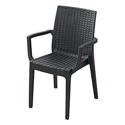 チェア 椅子 イス 2脚セット 屋外 カフェ系 テラス ガーデン 庭 ベランダ バルコニー 肘置き【ガーデン家具 ガーデンチェア チェア 椅子 イス いす 送料無料】