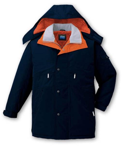 シンサレートハイロフト最高級グレード48233 防水 防寒コート 4L5Lポリエステル100% 高密度タフタ自重堂 防寒着