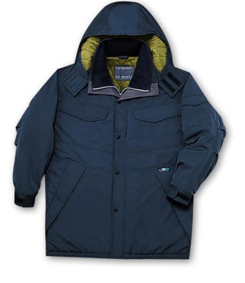 透湿撥水48173防寒コート4L5L高密度タフタ ポリエステル100%自重堂  防寒着