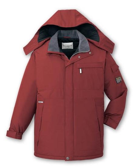 透湿防水48383防寒コート4L5Lポリエステル100%シンサレート自重堂 防寒着
