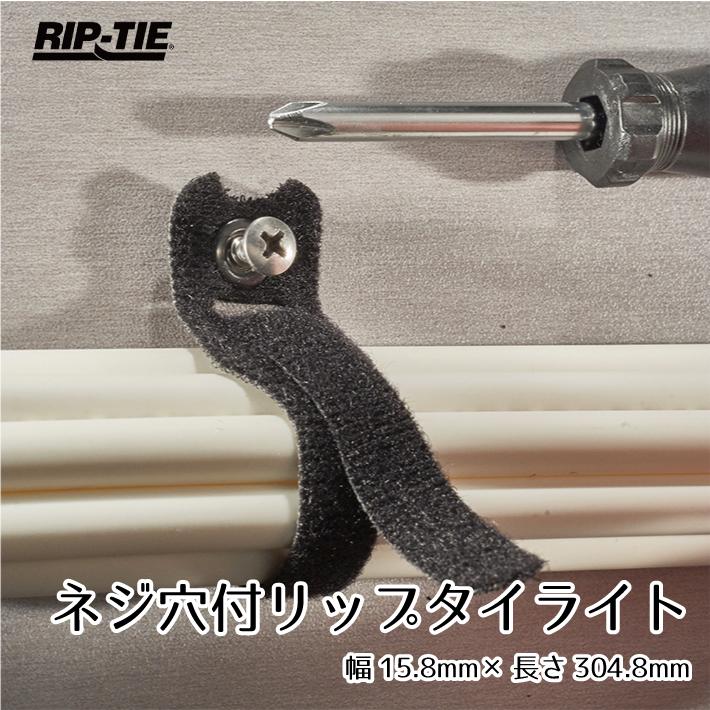 Rip-Tie ネジ穴付き リップタイライト 幅15mm×長さ304mm 100本パック X-12-XRL