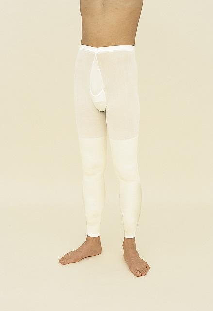 【5,000円以上送料無料】ロングパンツ式両膝サポーター2枚組(男性用)【_関東】smtb-m