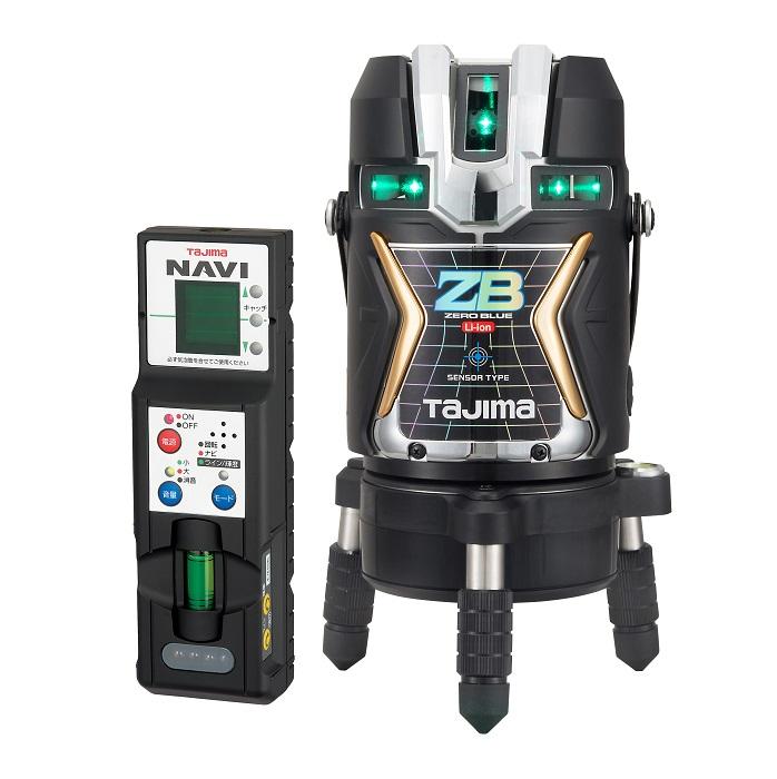 【送料無料】 【タジマ】 レーザー墨出し器 NAVI ZERO BLUEセンサーリチウム-KJC ZEROBLSN-KJC 【TAJIMA】