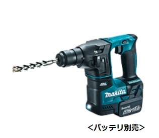 【マキタ】 14.4V 充電式ハンマドリル HR170DZK [SDSプラスシャンク] 本体+ケースのみ <バッテリ・充電器・ビット別売>【makita】
