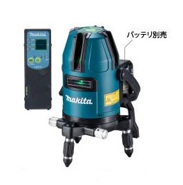 【マキタ】 充電式屋内・屋外兼用墨出し器 SK40GD 受光器・バイス・ケース付<バッテリ・充電器・三脚別売> 【makita】