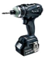 【送料無料】 【マキタ】 18V 充電式4モードインパクトドライバ TP141DRGXB(黒) 6.0Ahバッテリ2本・充電器・ケース付 【makita】