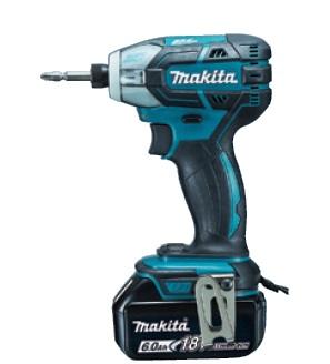 【マキタ】 18V 充電式ソフトインパクトドライバ TS141DRGX(青) 6.0Ahバッテリ2本・充電器・ケース付 【makita】