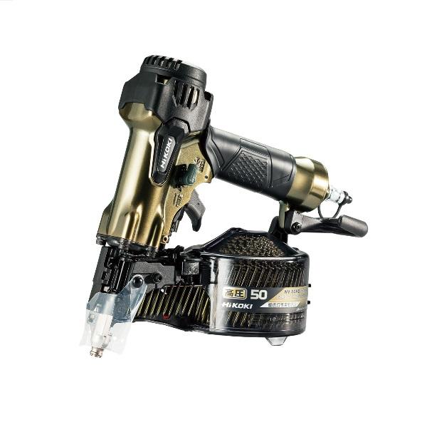 【HiKOKI】 NV50H2 50mm 高圧ロール釘打機 細径釘専用 ケース別売 【ハイコーキ】 (日立工機)
