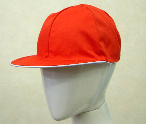 Review discount is! Sturdy T/C blend red white hat fs3gm