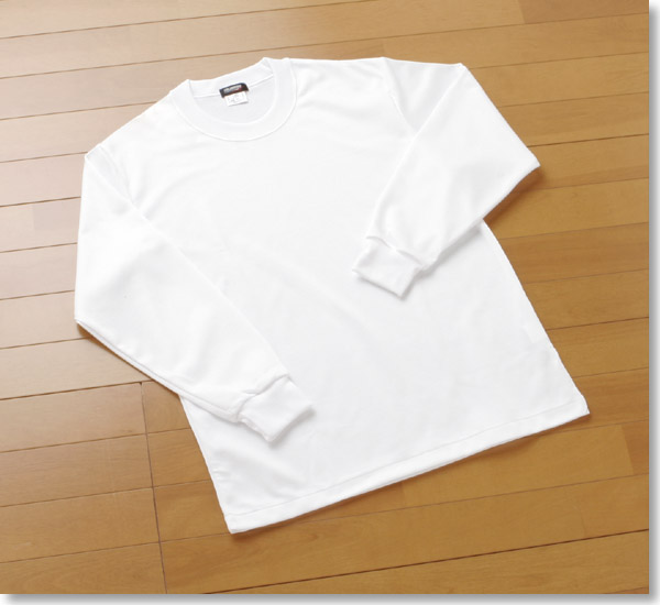 Cloth fast-dry long sleeves T-shirt 180 made in Japan