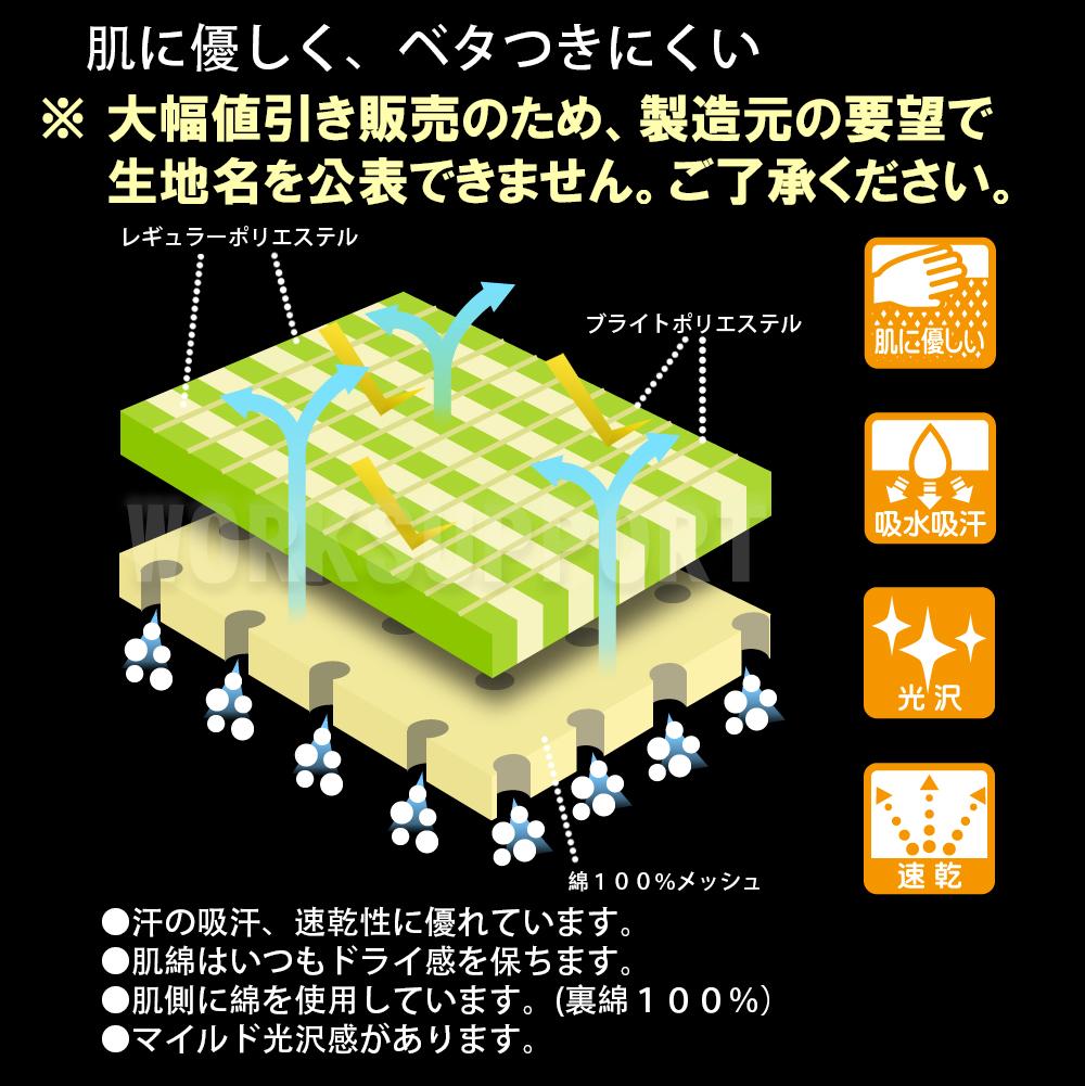 Japan-made 120-150 T shirt short sleeve quick-drying fabrics