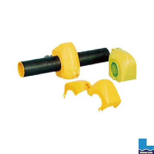クランプカバー ハイカバー(硬質) 入数:100個カラー:イエロー・グリーン〈鋼管 単管 クランプ カバー アラオ〉02P03Dec16