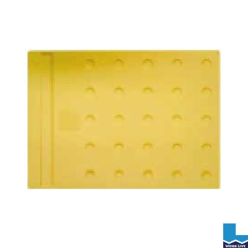 エコ点字パネル ホームタイプ 300×400mm入数:20枚再生エラストマー樹脂使用〈ブロック タイル 点字 誘導 歩行 補助〉02P03Dec16