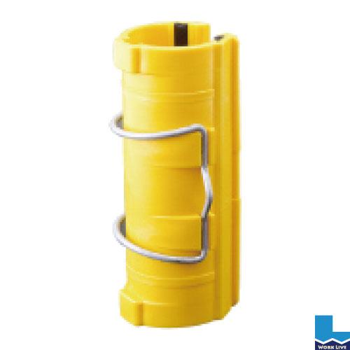 パッチンクリップ 48.6φ用 カラー:黄入数:120個入〈ブルーシート シート カバー 止め具 固定〉