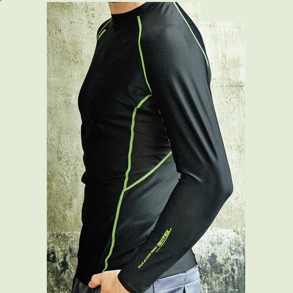 強く、優しく、心地よい、最高のコンプレッション!もちろん接触冷感、吸汗速乾機能あり! 寅壱 5978-617 クルーネックシャツ (M~LL)