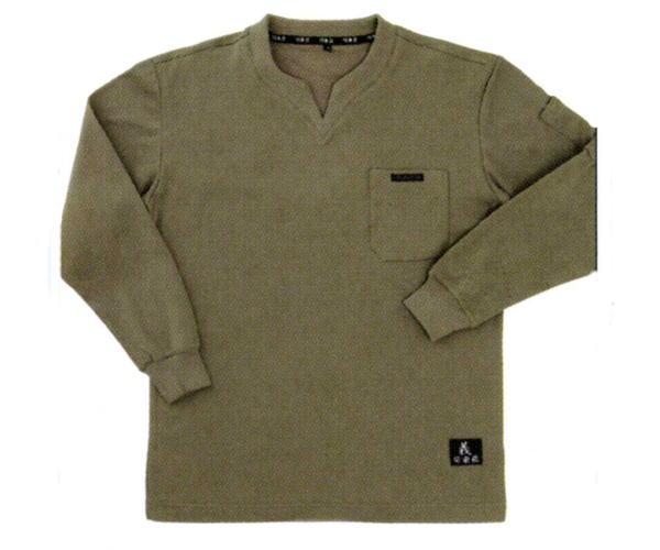 日本未発売 関東鳶 永遠の定番モデル インナー 7440 鳶Tシャツ M~LL 長袖 吸汗速乾