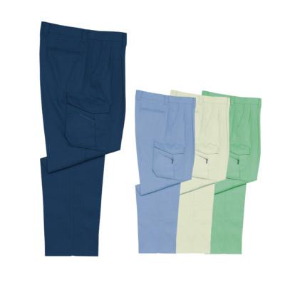 清涼 自重堂 Jichodo 作業服 春夏物 47702 ツータック カーゴパンツ 70~106cm