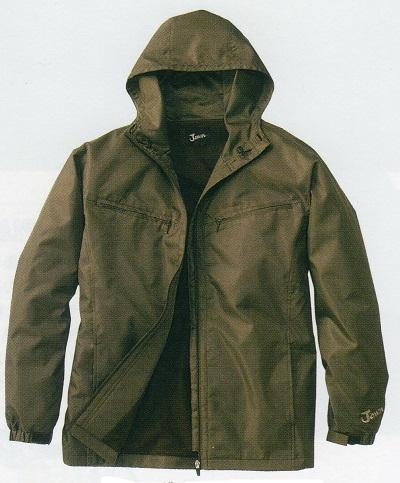 1年保証 人気 Jawin 防寒着 58133 防寒コート ショート M~5L フード付