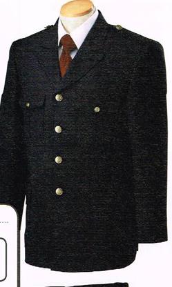 ジーベック XEBEC 警備服 18105 四ッ釦 ジャケット AS~B3L