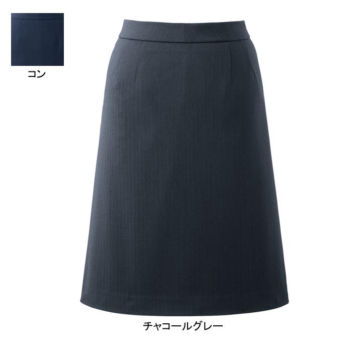 事務服・制服・オフィスウェア ピエ HCS3612 キテミテ体感Aラインスカート(54cm丈) 17号~19号