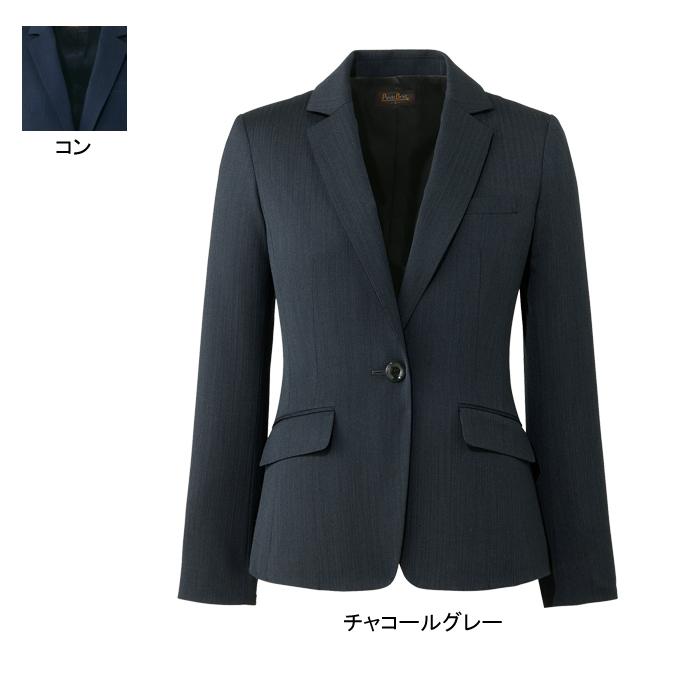 事務服・制服・オフィスウェア ピエ HCJ3610 キテミテ体感ジャケット 17号~19号