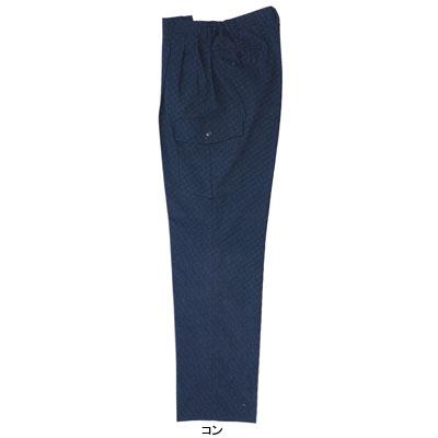 ジーベック 1356 ツータックラットズボン ウェザークロス 綿100% 伸縮素材