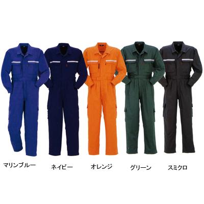 DON 6750 ツナギ服 ツイル ポリエステル55%・コットン45% ストレッチ 帯電防止