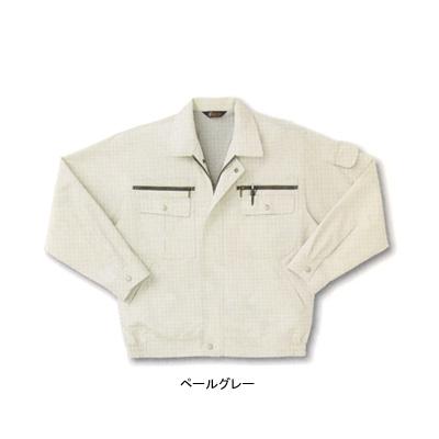 サンエス WA821(BC821) 長袖ブルゾン ポプリン(綿60%・ポリエステル40%) ストレッチ 帯電防止素材