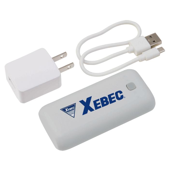ジーベック 166 モバイルバッテリーセット(バッテリー本体、ACアダプター、USBケーブル、取扱説明書)